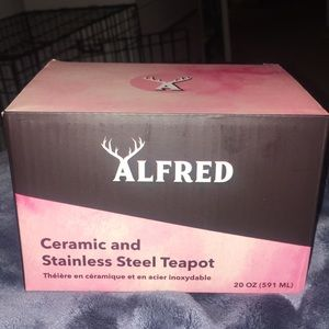 Alfred stainless steel Teapot